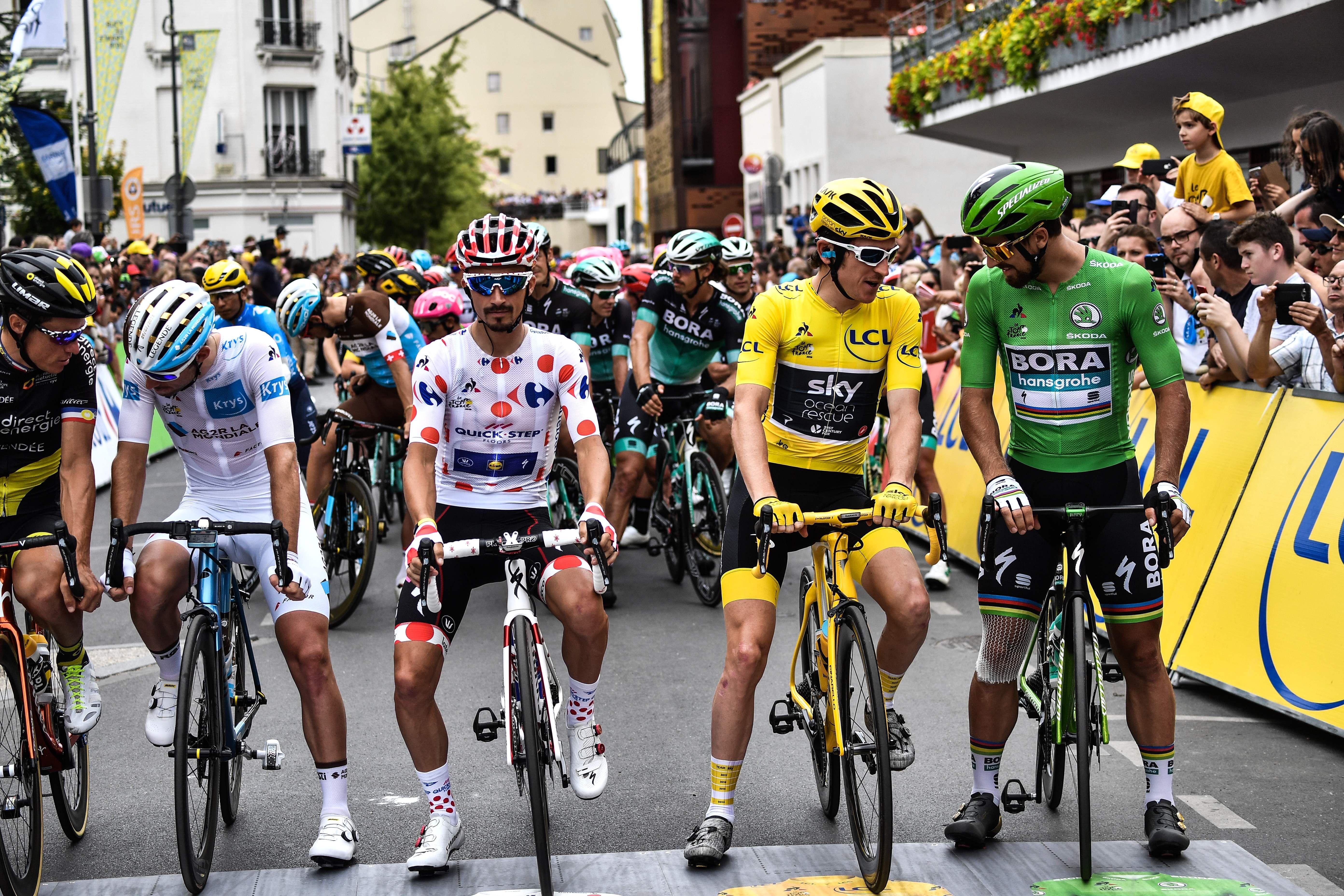 The Four Jersey Winners of the 2018 Tour de France 67a88949d