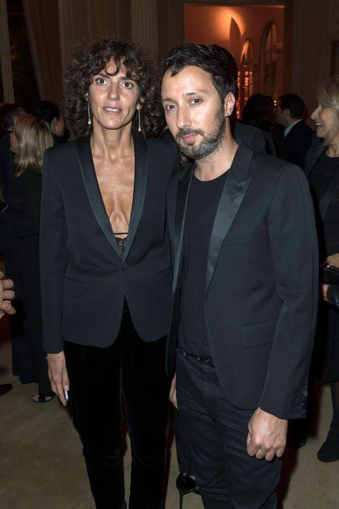 opening party at yves saint laurent museum    paris fashion week womenswear springsummer 2018