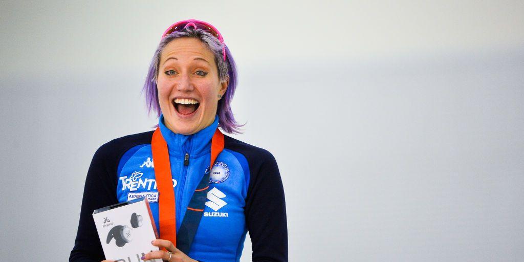 Francesca Lollobrigida pattinaggio di velocità