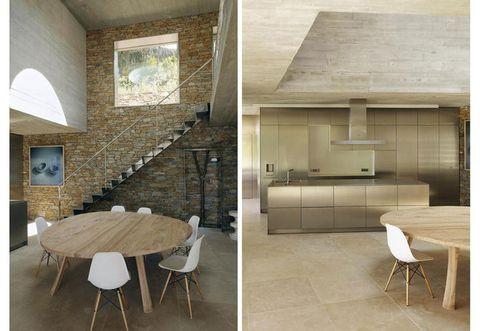 Floor, Room, Wood, Interior design, Property, Furniture, Flooring, Wall, Table, Ceiling,