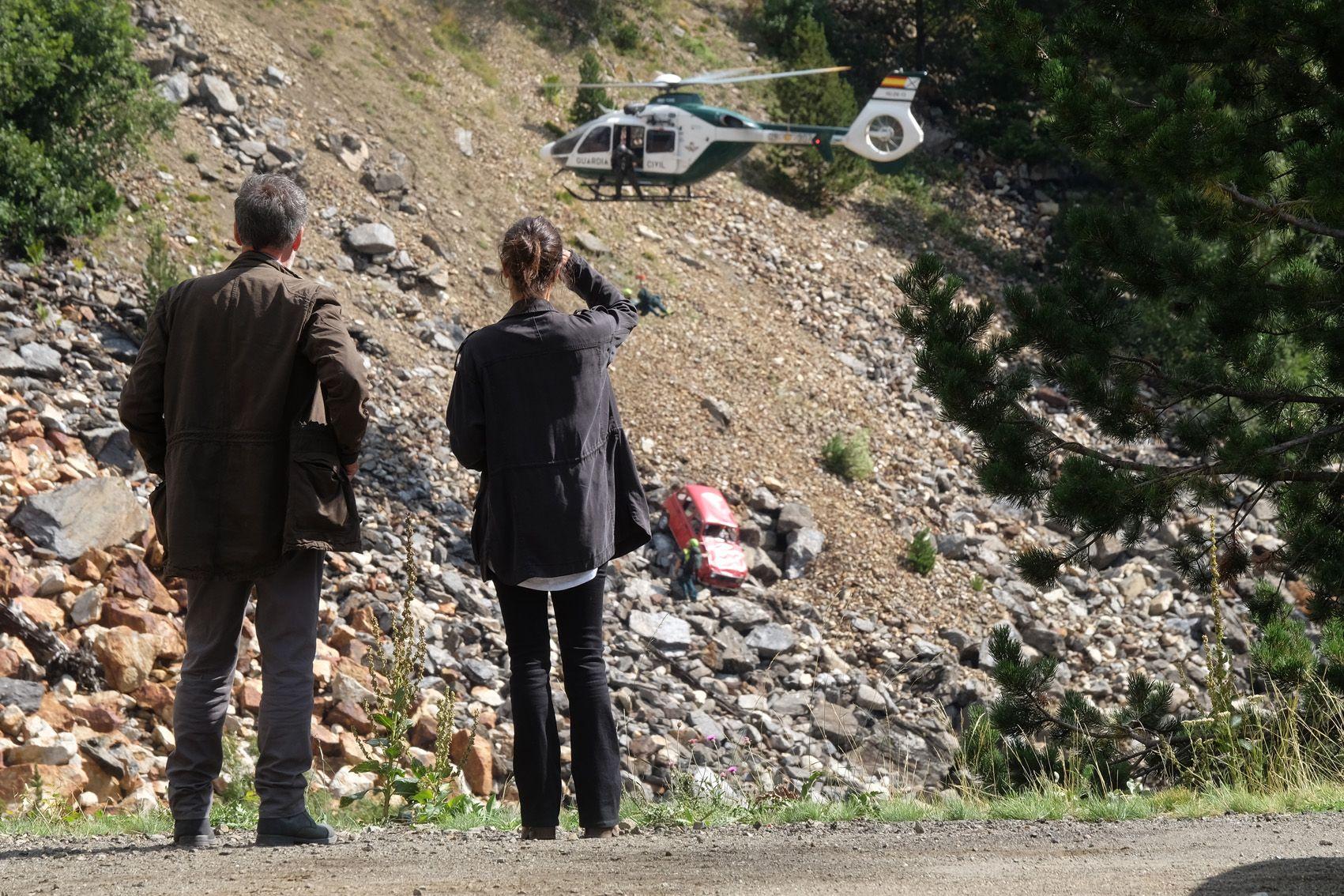 Francis Lorenzo y Megan Montaner investigan en'La caza. Monteperdido'