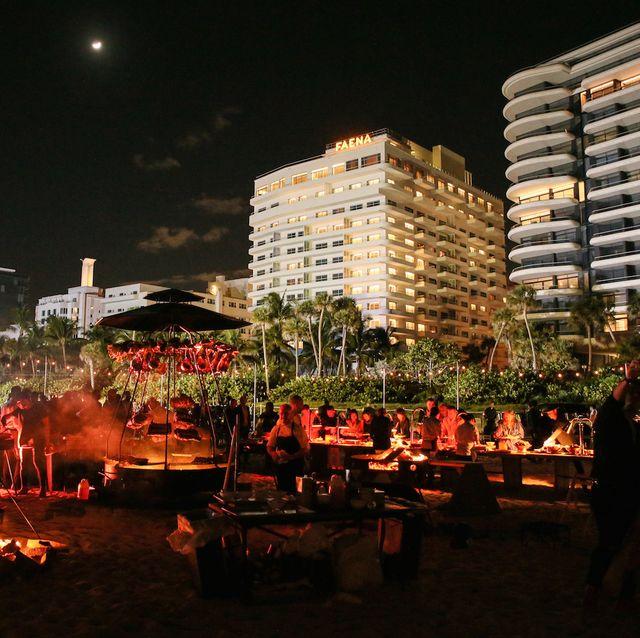 A view of the Faena Festival, 2019