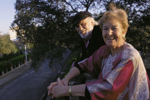 Francisco Rabal y su mujer Asunción Balaguer