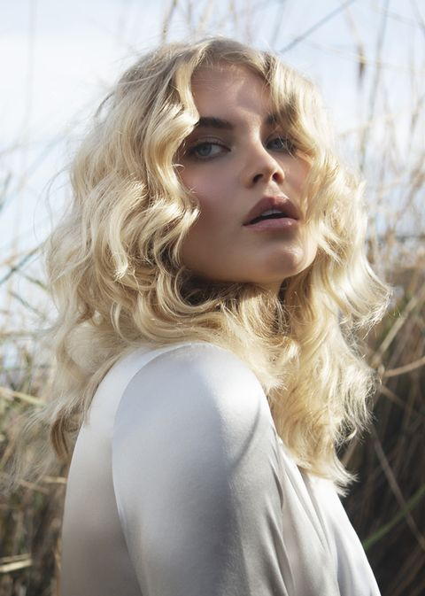 Hair, Blond, Hairstyle, Beauty, Long hair, Lip, Photo shoot, Model, Surfer hair, Photography,