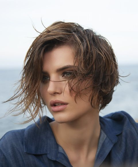 Hair, Face, Hairstyle, Chin, Eyebrow, Beauty, Lip, Brown hair, Head, Blond,