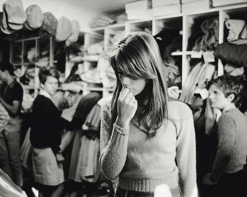 Francoise Hardy Shopping