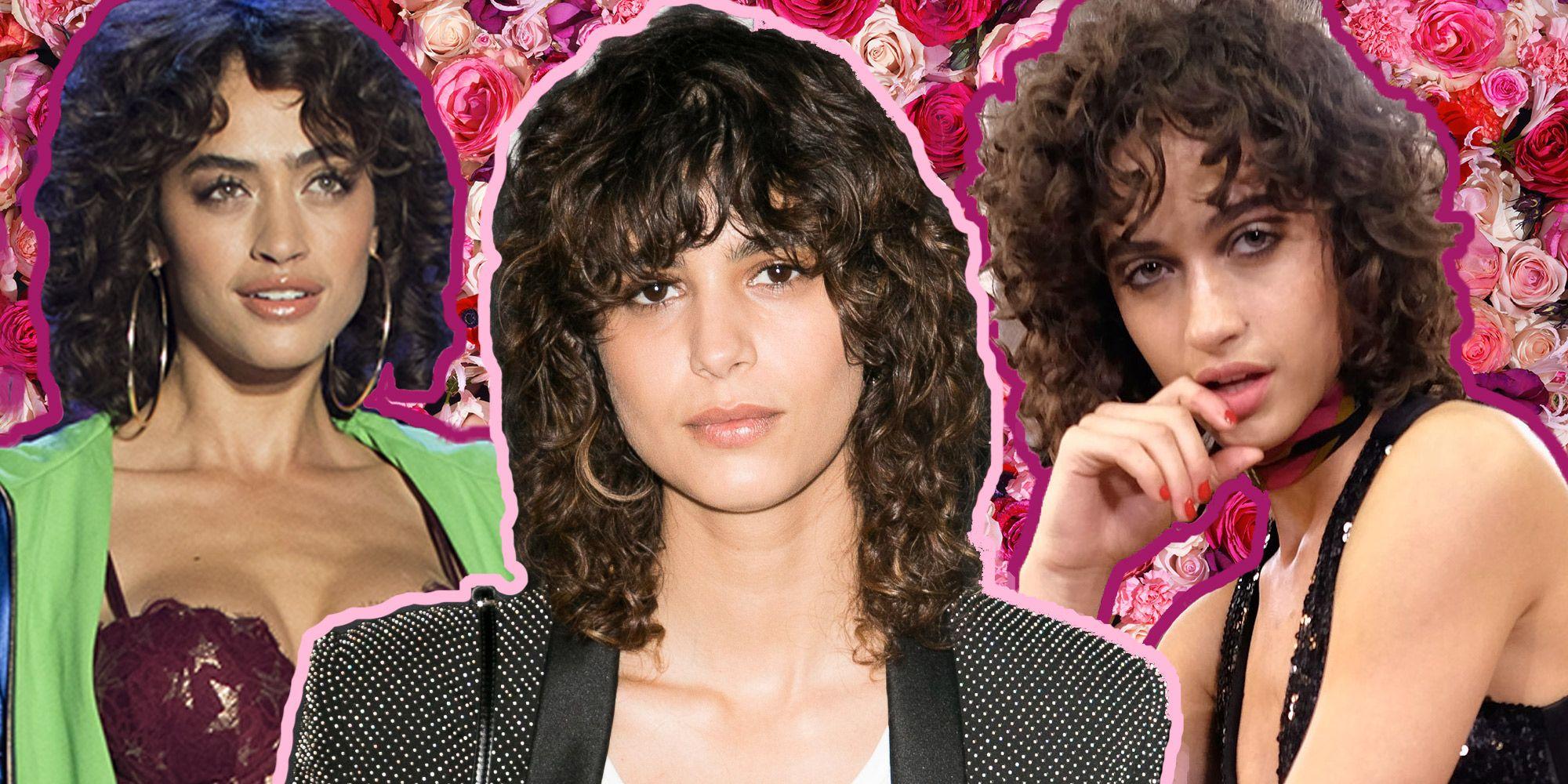 Frangia con i capelli ricci? Of course! 7 hairstyle per frange riccissime