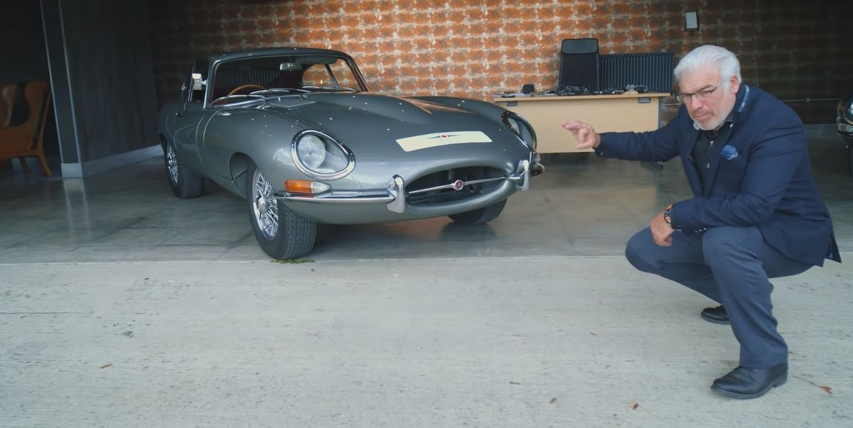 Watch Frank Stephenson Redesign the Jaguar E-Type