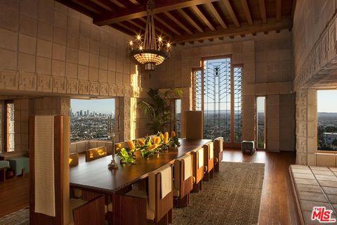 La icónica casa Ennis diseñada por Frank Lloyd Wright a la venta