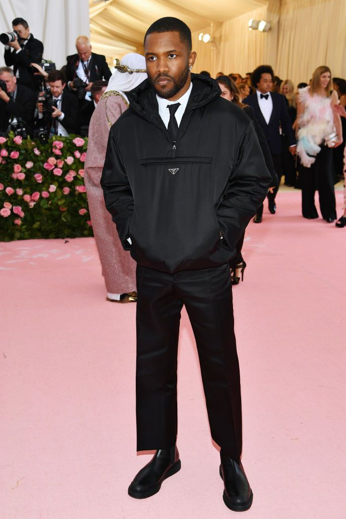 Are We Going to Talk About Kanye West and Frank Ocean's Met Gala Looks?