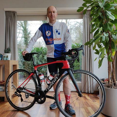 Frank van Moorsel is Fietser van het jaar!