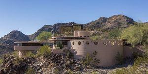 Frank Lloyd Wright final home