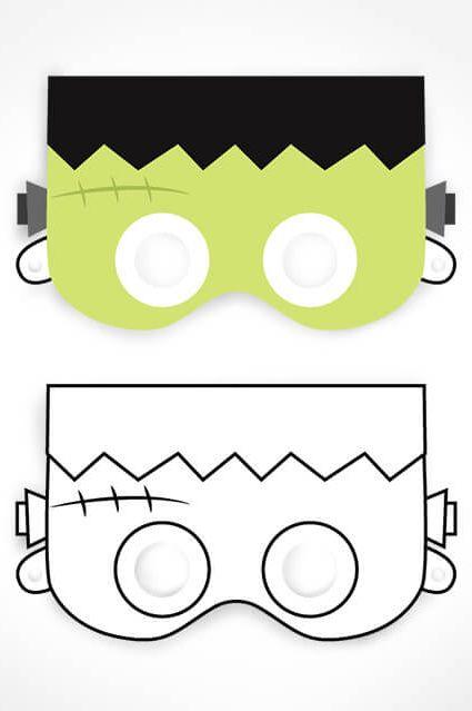 halloween printables mask