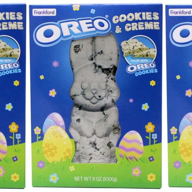 frankford candy oreo cookies  creme easter rabbit