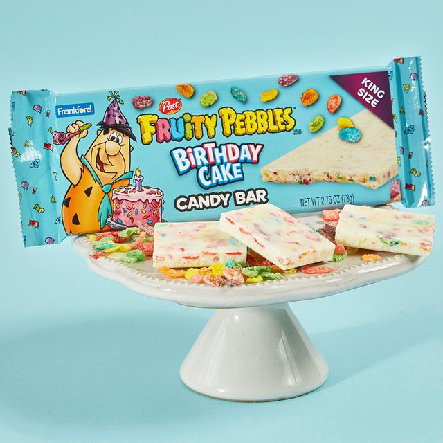 frankford candy post consumer brands fruity pebbles birthday cake candy bar