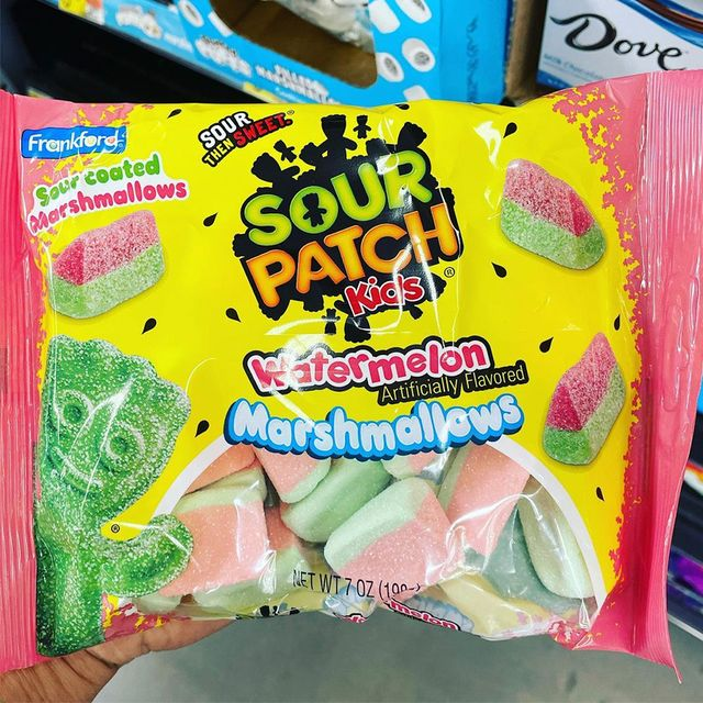 frankford candy sour patch kids watermelon marshmallows