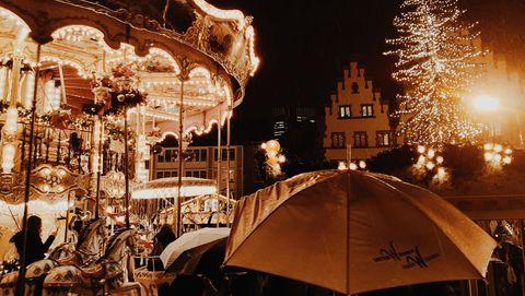 Frankfurt Christmas German market