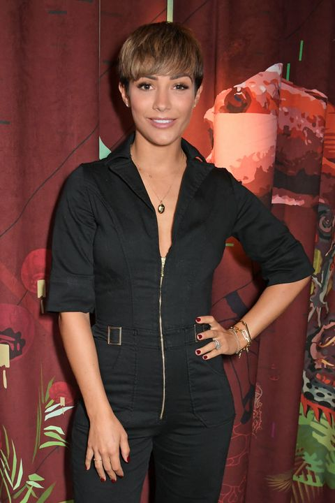 london, england   september 24   frankie bridge attends a private dinner celebrating the launch of donna idas cassandra jumpsuit at black roe on september 24, 2019 in london, england  photo by david m benettdave benettgetty images
