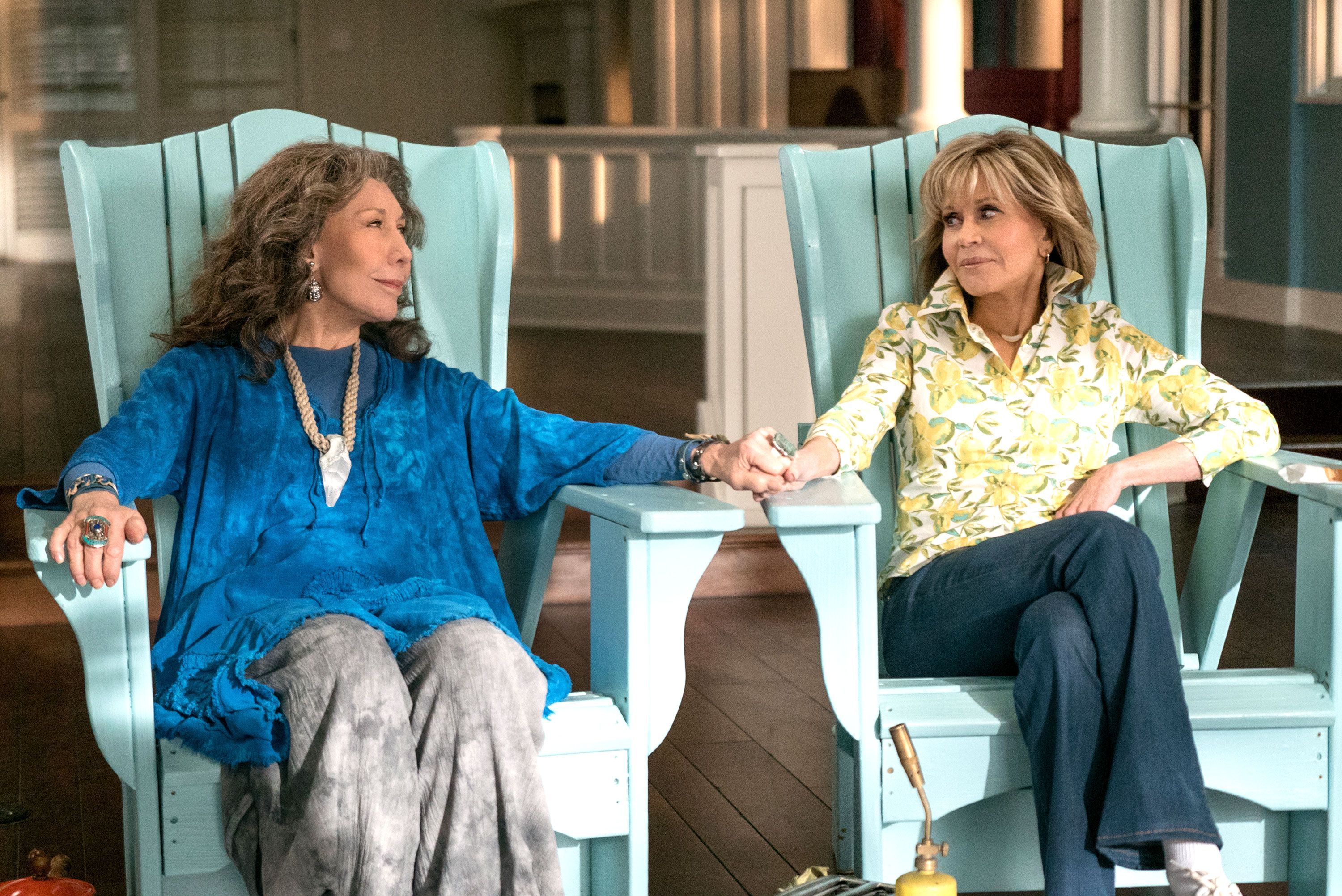 Netflix's longest-running original series Grace and Frankie to end after season 7