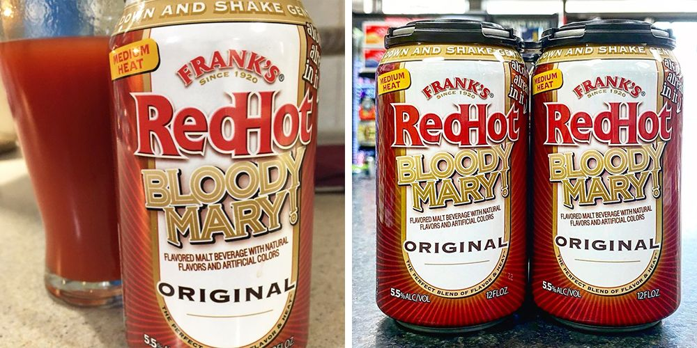 Frank's RedHot Is Serving Up A Ready-to-Drink Bloody Mary In A Can