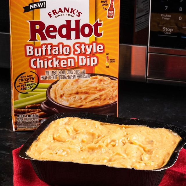frank's redhot buffalo style chicken dip