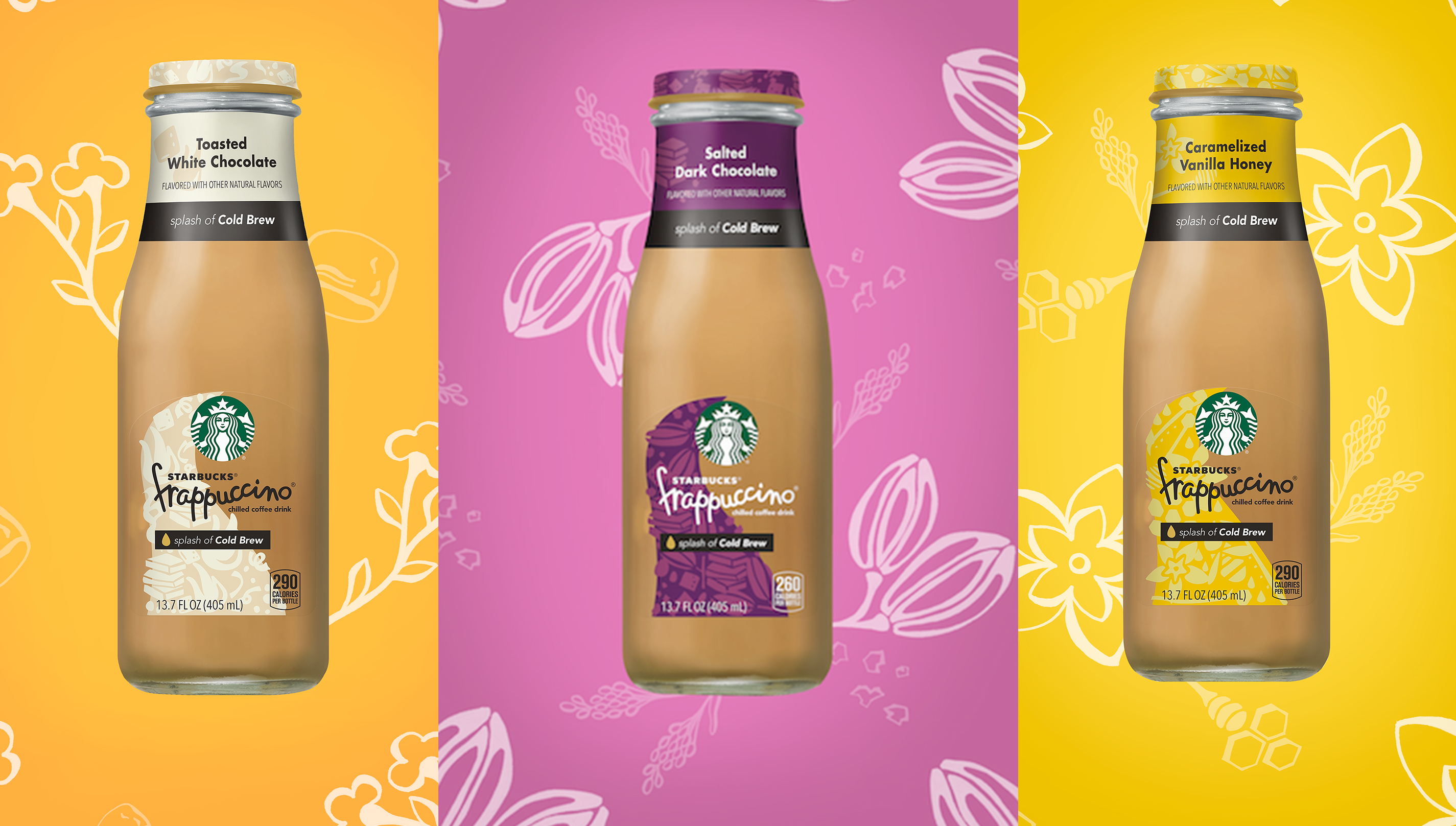 Starbucks Releases 3 New Bottled Frappuccino Flavors In