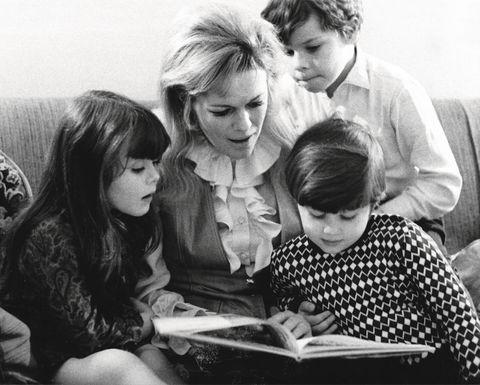 Natasha Fraser Cavassoni e famiglia