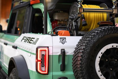 ford bronco wildland fire rig concept