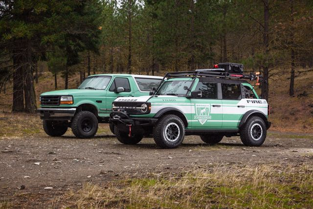 ford bronco® brand and filson, the rugged outdoor outfitter, join forces to celebrate wildland firefighters and support the national forest foundation, unveiling the bronco  filson wildland fire rig concept and limited edition outdoor gear to help fund reforestation and forest preservation
