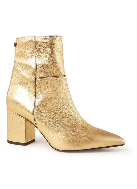 Footwear, Boot, Shoe, Beige, Tan, Brown, High heels, Leather, Fawn,