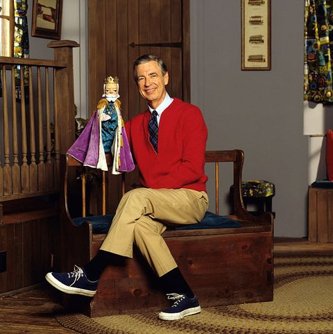 Children's Television Host Fred Rogers
