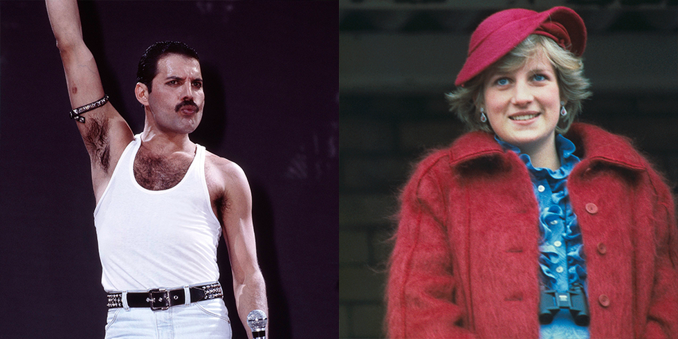 The Real Story Behind the Night Freddie Mercury Dressed Princess Diana as a Man and Took Her Clubbing - esquire.com