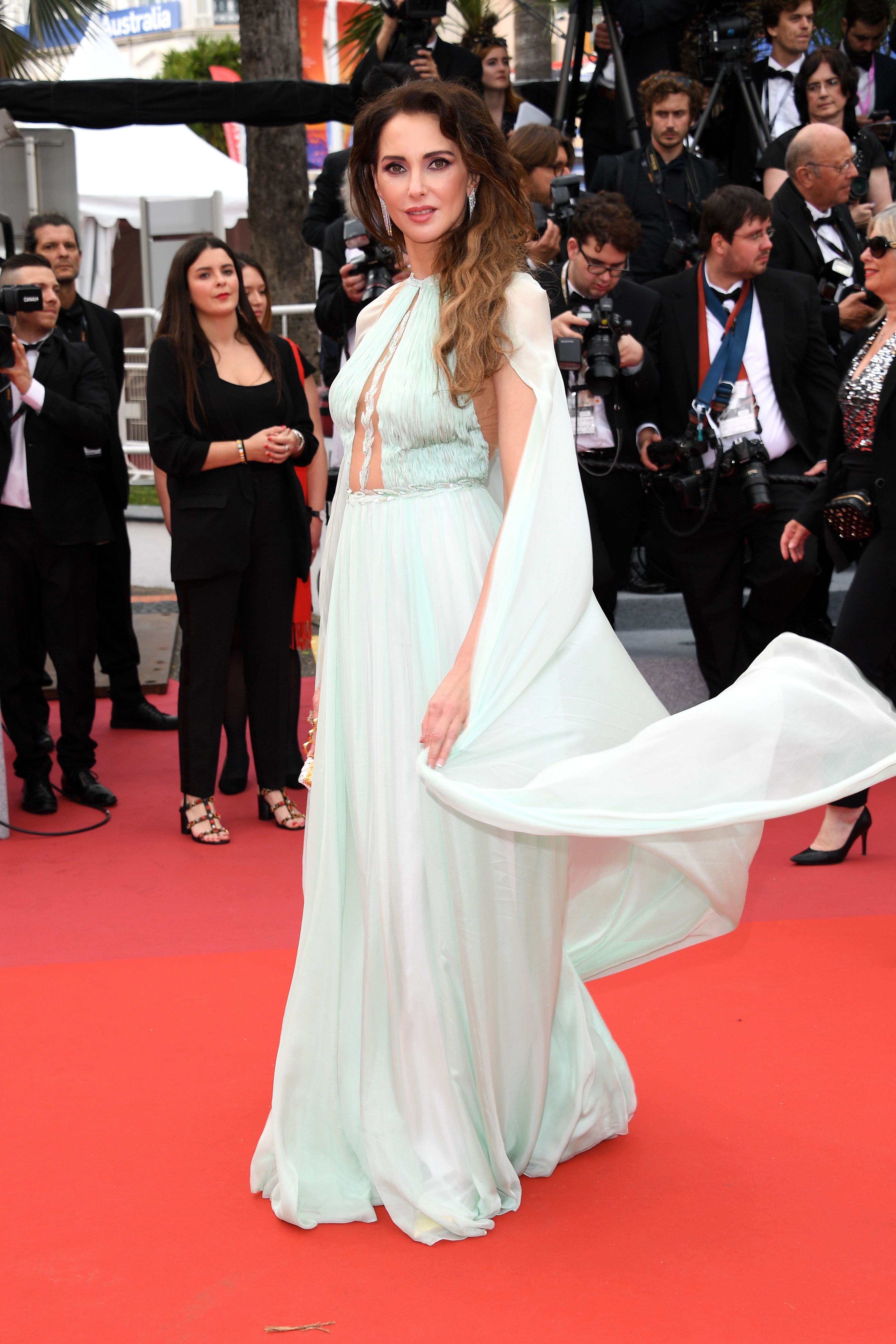 Frédérique Bel At the opening ceremony of the Cannes Film Festival and premiere of The Dead Don't Die .