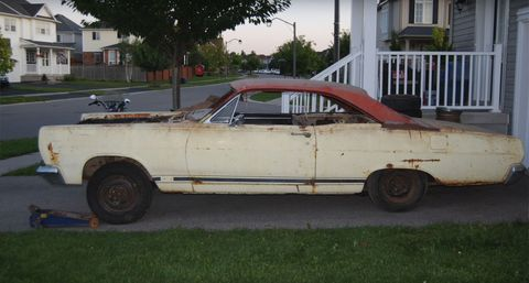 Free Mercury project car to be given away by Canadian collector
