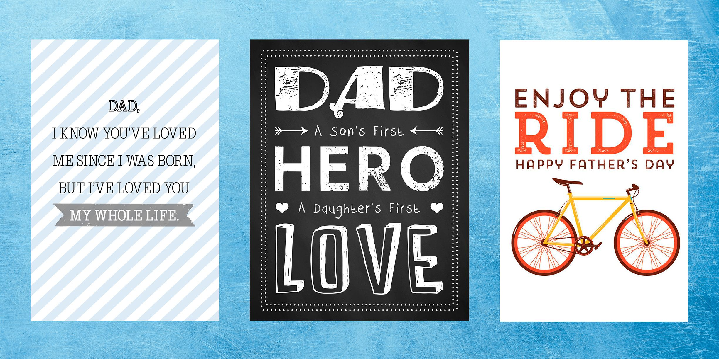 15 Free Printable Fathers Day Cards Cute Online Fathers Day