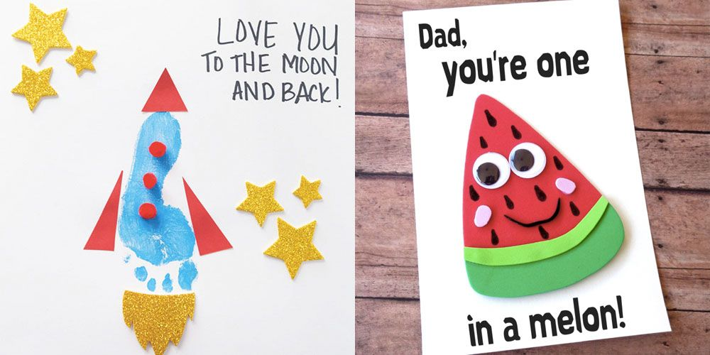 photo about Hands Down You Re the Best Teacher Around Free Printable referred to as 18 Uncomplicated Fathers Working day Craft Items for Youngsters - Do it yourself Presents for