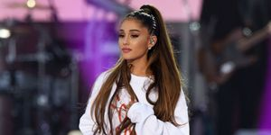 Ariana Grande during the One Love Manchester Benefit Concert