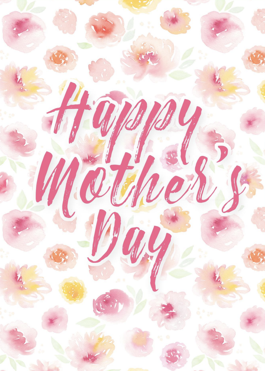 40 Free Printable Mother S Day Cards Best Mothers Day 2021 Cards