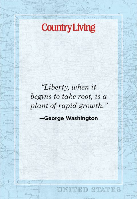 quote about freedom from george washington