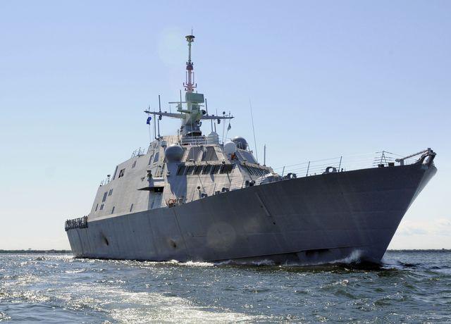 new warship undergoes builders trials