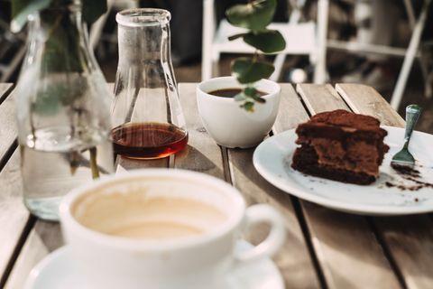 Food, Dish, Cuisine, Cup, Ingredient, Dessert, Drink, Chocolate brownie, Coffee cup, Brunch,