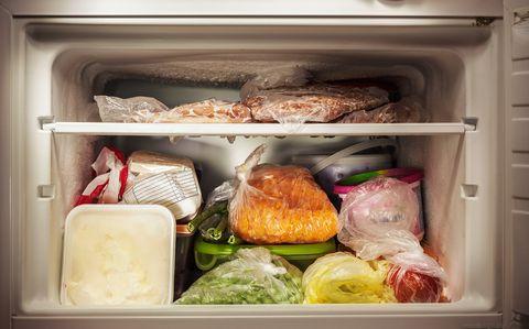 Freezer Interior