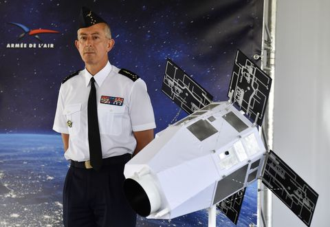 France Is Making Space-Based Anti-Satellite Laser Weapons