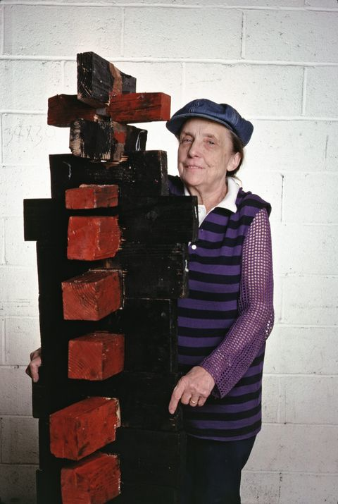 Sculptor Louise Bourgeois