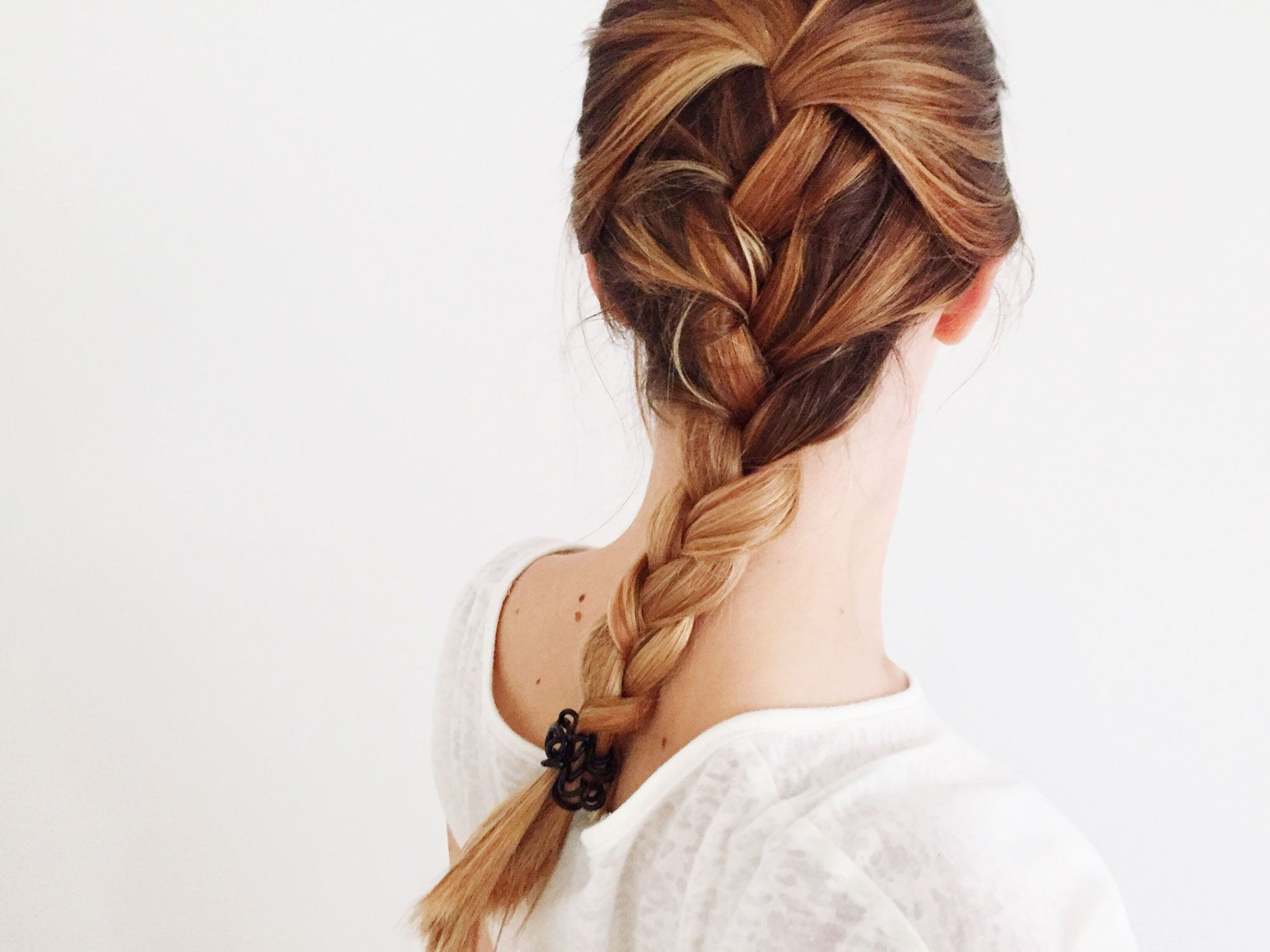 How To French Braid Your Own Hair Braiding Tutorial For Beginners