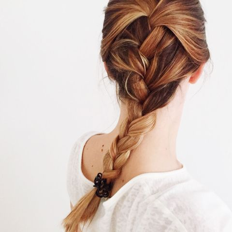 Cool How To French Braid Your Own Hair Braiding Tutorial For Beginners Schematic Wiring Diagrams Amerangerunnerswayorg