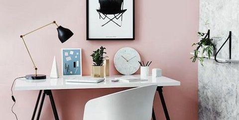 Rosa palo en decoración