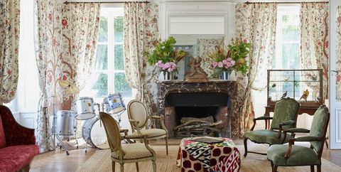 20 French Country Living Room Ideas - Pictures of Modern French ...