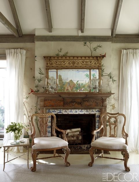 25 French Country Living Room Ideas - Pictures of Modern French ...