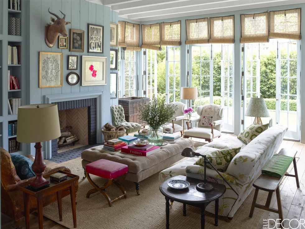 25 french country living room ideas pictures of modern french rh elledecor com Old Country Living Room Design Cozy Living Room Designs